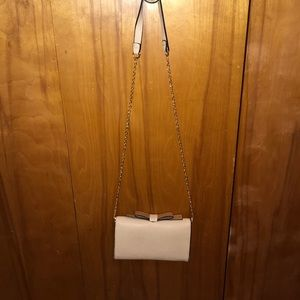 Faux leather cross body purse (Never used)